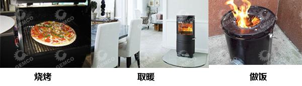 木屑颗粒可用于家用取暖