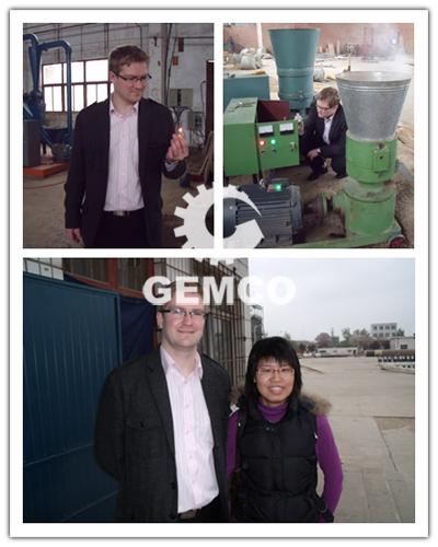 立陶宛客户来吉姆克考察颗粒机
